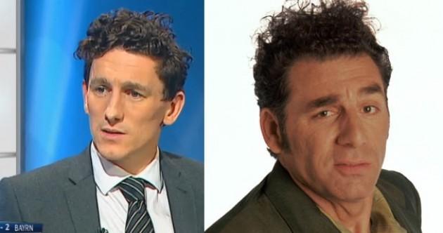 'Keith Andrews looks like Kramer from Seinfeld' — midfielder's new hair sends Ireland wild
