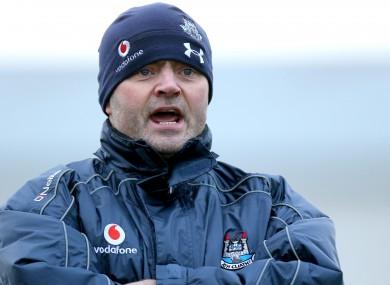 Dublin boss, Anthony Daly.