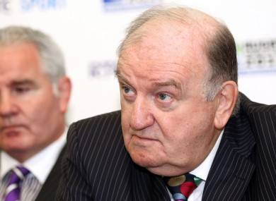 George Hook and Brent Pope (file photo).