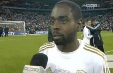 VIDEO: Dyer expresses disappointment at Swansea penalty snub