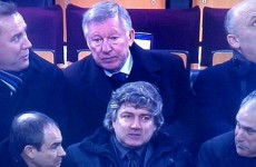 Alex Ferguson is in Barcelona tonight to scout Real Madrid
