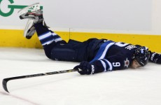In tribute to the day of pancakes, it's the best sporting faceplants