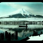 Mount Fuji from the dock. Flickr/Rob Oeschle (originally T. Enami)