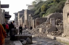 Work (finally) begins on Pompeii's €105 million makeover
