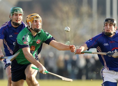LIT's Seamus Callanan and WIT's Noel Connors were in action this afternoon.