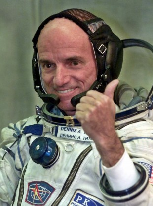 Dennis Tito who became the world's first space tourist in 2001.