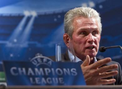 The Bayern boss.