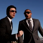ZACH BRAFF AND DONALD FAISON:  Maybe it was method acting, maybe it was bromance, but these onscreen besties took it offscreen in a major way and have been hanging out all over the place ever since.  Donald even had his wedding at Zach's house.  YouTube/zachndonald
