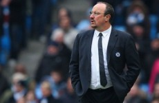 Boos don't bother Benitez