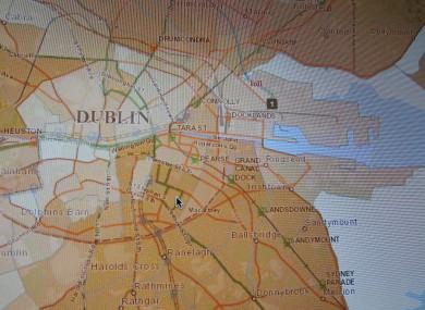 Dublin as seen on the property tax website