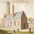 Here is St Michael le Pole, which was once located between Chancery Lane and Ship Street. 'St Michael of the Pool' overlooked the 'Black Pool' from which Dubhlinn took its name. The round tower stood for almost 700 years before it was removed. (Image: Archiseek.com)