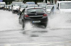 Road users warned of risk of flooding