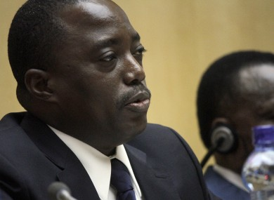 Joseph Kabila, President of the Democratic Republic of Congo