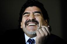 Diego Maradona's dream job? Coaching Leo Messi at Barca