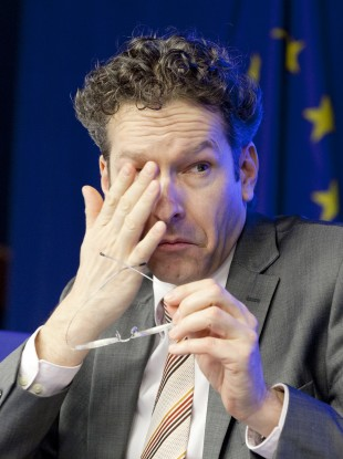 Jeroen Dijsselbloem has only been Eurogroup president for two months - but has already