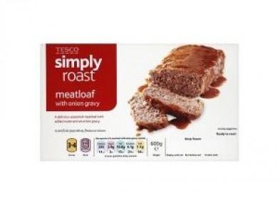 Tesco Simply Roast Meatloaf 600g.