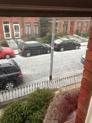 Terenure in Dublin this morning