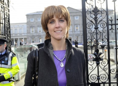 Fine Gael TD for Mayo Michelle Mulherin (file photo)
