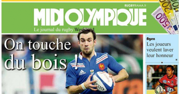 French media declare Brian O'Driscoll is 'dreaming of a winning farewell'