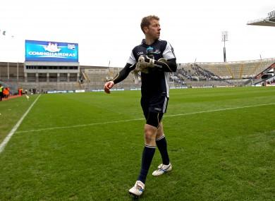 Shane Supple: starts again in goal for Dublin.