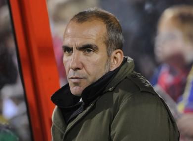 Di Canio previously managed Swindon.