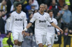 Madrid ready for Manchester United clash, claims Pepe