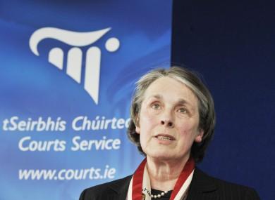 Chief Justice Susan Denham.