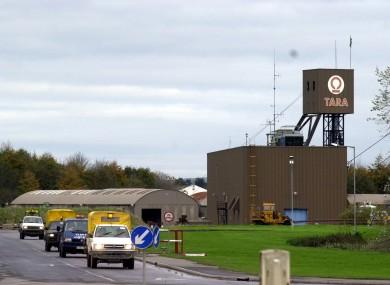 Tara Mines in Navan, Co Meath.