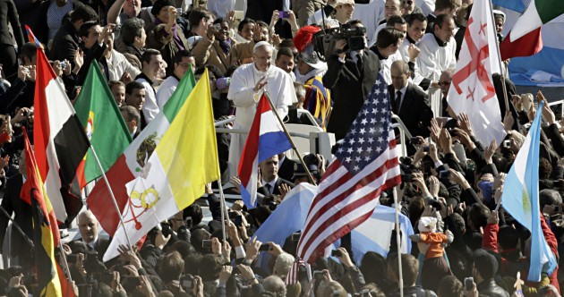 In Pictures: Pope Francis' inauguration