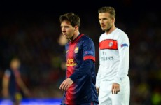 Messi passed fit for Bayern semi-final