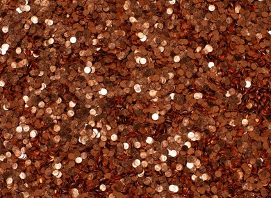 Pennies, pennies everywhere - but it costs more than 1c to mint every single 1c coin.