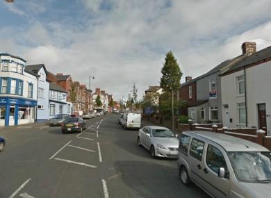 Part of the Crumlin Road, Belfast