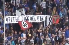 Levski Sofia fans wish Adolf Hitler a happy birthday