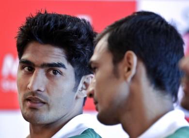 Indian boxer Vijender Singh, left, allegedly took heroin 12 times.