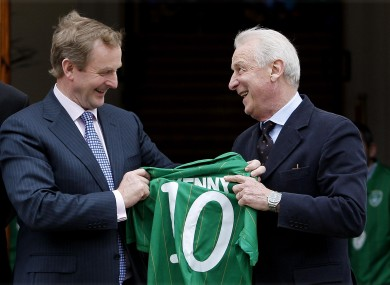Could Trap learn a few tricks about politics from Enda?