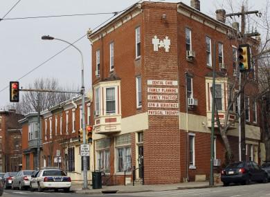 The Women's Medical Society in Philadelphia where Kermit Gosnell worked.