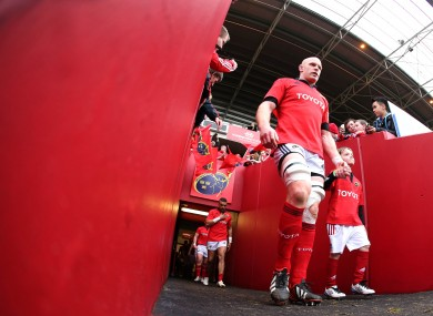 Paul O'Connell is set to feature for Munster this weekend.