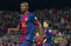 Abidal returns for Barca as all 4 remaining Champions League sides win