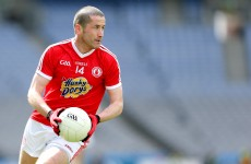 Freak pre-match accident sees Tyrone's O'Neill miss out on league final