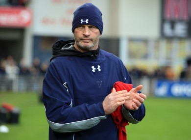 No interest: ASM Clermont Auvergne coach Vern Cotter.