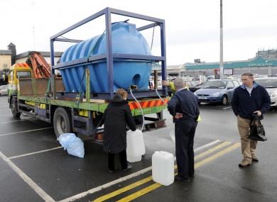 Water tanker in Dublin city (File photo)