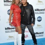 David Guetta was there with his wife Cathy Guetta ('Cathy Guetta' sounds a bit like your ma's friend from down the road, doesn't it?)  John Shearer/Invision/AP