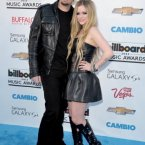 Avril Lavigne and her husband, Nickelback's Chad Kroeger, successfully gave everyone the creeps.  John Shearer/Invision/AP