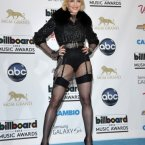 Madonna stuck to her usual understated style.