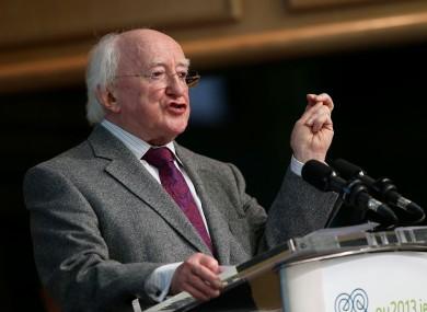 President Michael D Higgins: