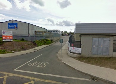 The incident happened at the Ballyboggan Industrial Estate, Cabra.