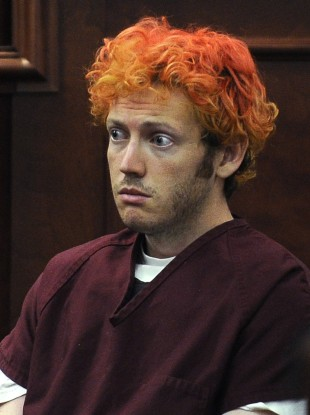 Colorado shooting suspect James Holmes, seen here in July. Holmes' lawyers say they may enter a plea of not guilty, by reason of insanity, later this month.