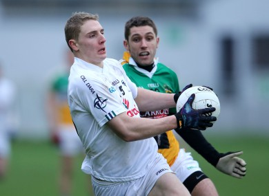 Kildare's Daniel Flynn will make his senior championship debut on Sunday.