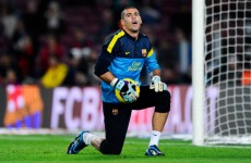 Unlucky Pepe Reina… Victor Valdes is staying with Barcelona for another year