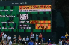Here's why Lee Westwood's caddy needs to stick to carrying the clubs
